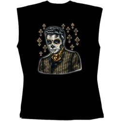 Pánské tričko bez rukávů - Greaser Day Of The Dead