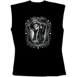 Pánské tričko bez rukávů - Greaser Leather Jacket