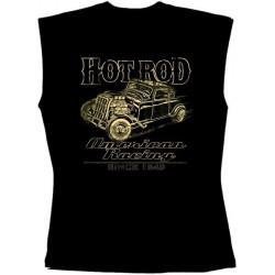 Pánské tričko bez rukávů - Hot Rod