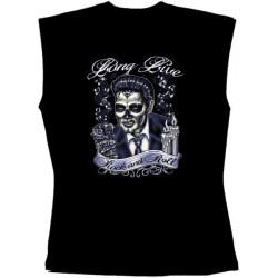 Pánské tričko bez rukávů -  long Live Rock And Roll