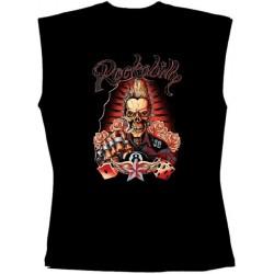 Pánské tričko bez rukávů -  Rockabilly