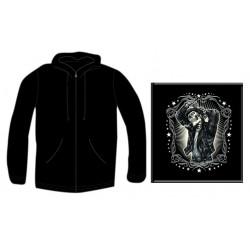 Pánská mikina se zipem - Greaser Leather Jacket