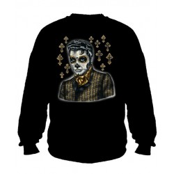 Pánská mikina bez kapuce - Greaser Day Of The Dead