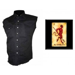 Pánská košile s potiskem - El Dablito