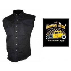 Pánská košile s potiskem - Hammer Head