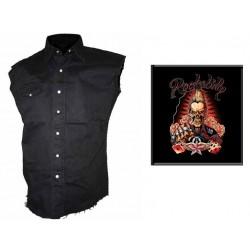 Pánská košile s potiskem - Rockabilly