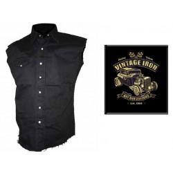 Pánská košile s potiskem - Vintage Iron