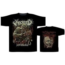 Pánské tričko se skupinou Aborted - God Machine