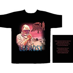 Pánské tričko se skupinou Death - Leprosy
