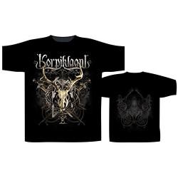 Pánské tričko se skupinou Korpiklaani - Crest