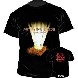 Pánské tričko se skupinou My Dying Bride - Manuscript