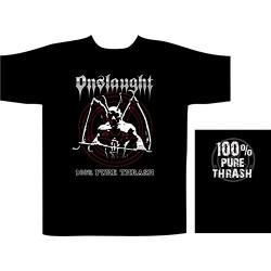 Pánské tričko se skupinou Onslaught - 100% Pure Thrash