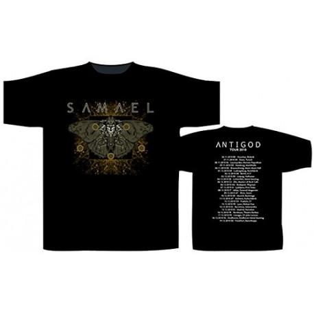 Pánské tričko se skupinou Samael - Moth