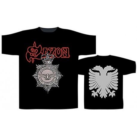 Pánské tričko se skupinou Saxon - Strong Arm Of The law