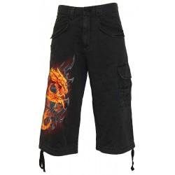 Pánské 3/4 kraťasy Spiral Direct - Fire Dragon