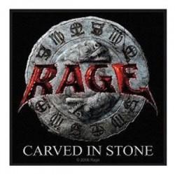 Nášivka Rage - Carved In Stone