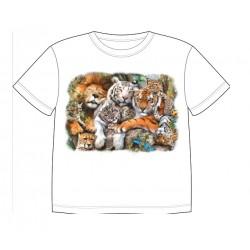 Dětské dobravující se tričko - Wild Cat Nap