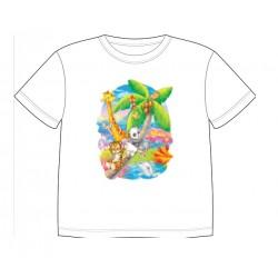 Dětské dobravující se tričko - Puppies