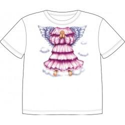 Dětské tričko s motivem těla - Anděl