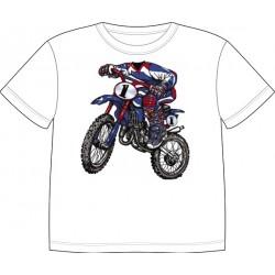 Dětské tričko s motivem těla - Motokros