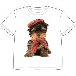 Dětské tričko s potiskem zvířat - Jorkšír