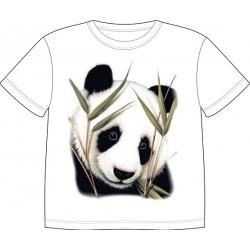Dětské tričko s potiskem zvířat - Panda
