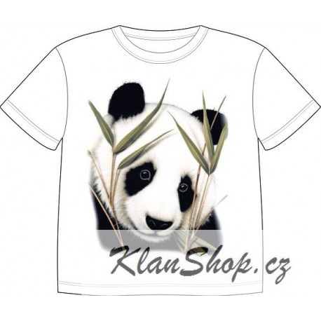 e9f28f58302 Dětské tričko s potiskem zvířat - Panda - KlanShop