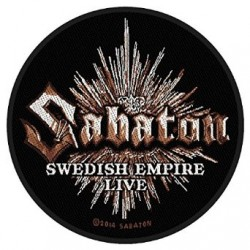 Nášivka Sabaton - Swedish Empire Live