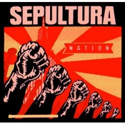 Nášivka Sepultura - Nation