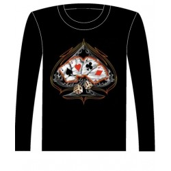 Pánské tričko s dlouhým rukávem - 4 Of A Kind