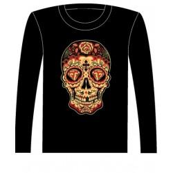 Pánské tričko s dlouhým rukávem - Day Of The Dead