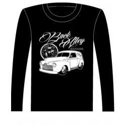 Pánské tričko s dlouhým rukávem - Back Alley Garage