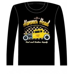 Pánské tričko s dlouhým rukávem - Hammer Head