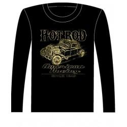 Pánské tričko s dlouhým rukávem - Hot Rod
