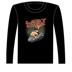 Pánské tričko s dlouhým rukávem - Lady Luck