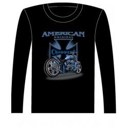 Pánské tričko s dlouhým rukávem - American Original