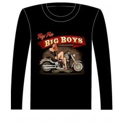 Pánské tričko s dlouhým rukávem - Big Boys