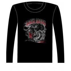 Pánské tričko s dlouhým rukávem - Death Defier