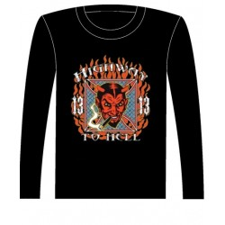 Pánské tričko s dlouhým rukávem - Highway To Hell