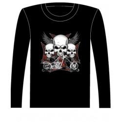 Pánské tričko s dlouhým rukávem - Iron Cross Choppers