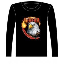 Pánské tričko s dlouhým rukávem - Live The Legend