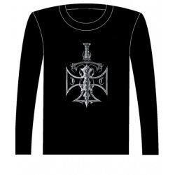 Pánské tričko s dlouhým rukávem - Sword And Axe