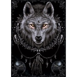 Fleecová deka Spiral Direct - Wolf Dreams