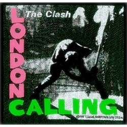Nášivka The Clash - London Calling