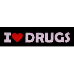 Nášivka I ♥ Drugs