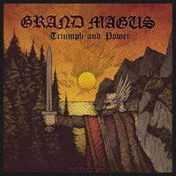 Nášivka Grand Magus - Triumph & Power