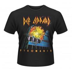Pánské tričko Def Leppard - Pyromania