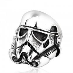 Prsten z chirurgické oceli - Stormtrooper