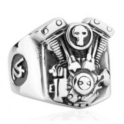Prsten z chirurgické oceli - Motor V2