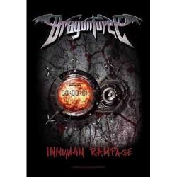 Vlajka na zeď s kapelou - Dragonforce - Inhuman Rampage